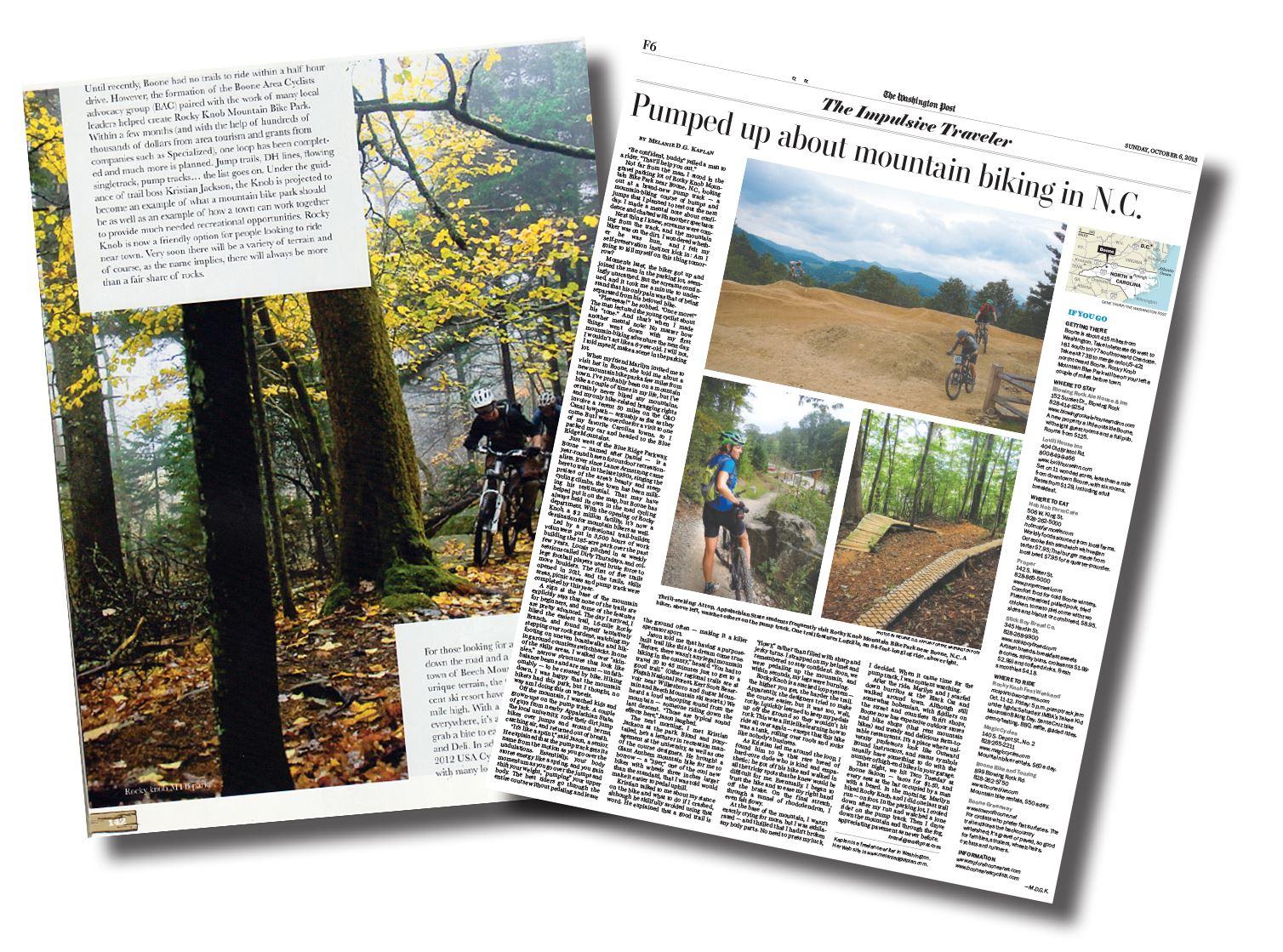 Rocky Knob Mountain Bike Park Destination By Design