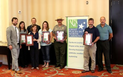 DbD Receives Planning Award from the NC Planning Association