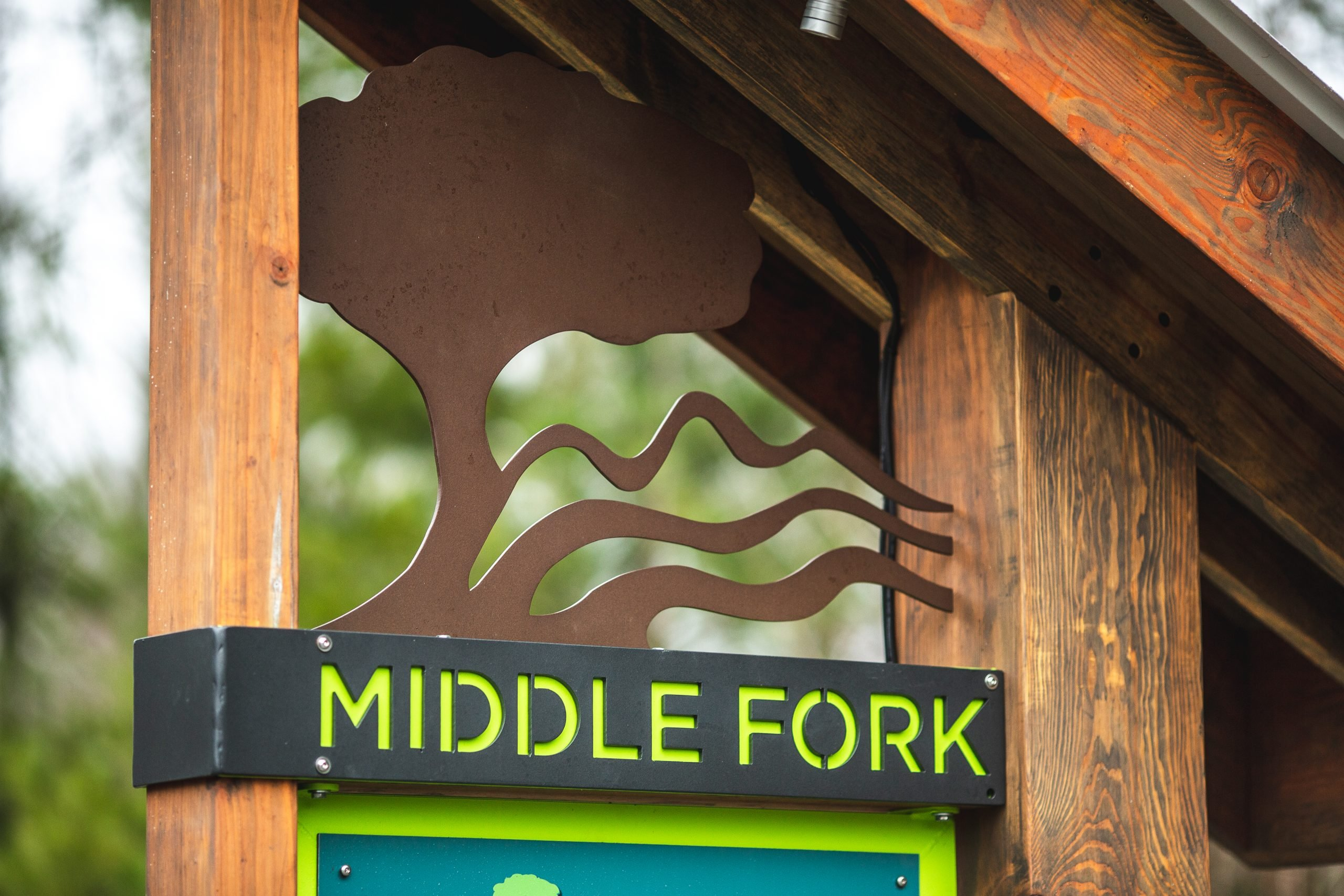 Middle Fork Greenway Sign