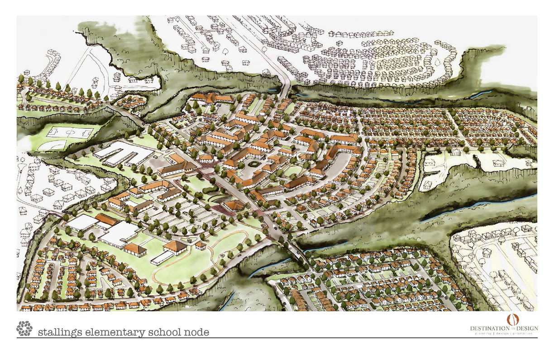 small area plan stallings north carolina destination by design