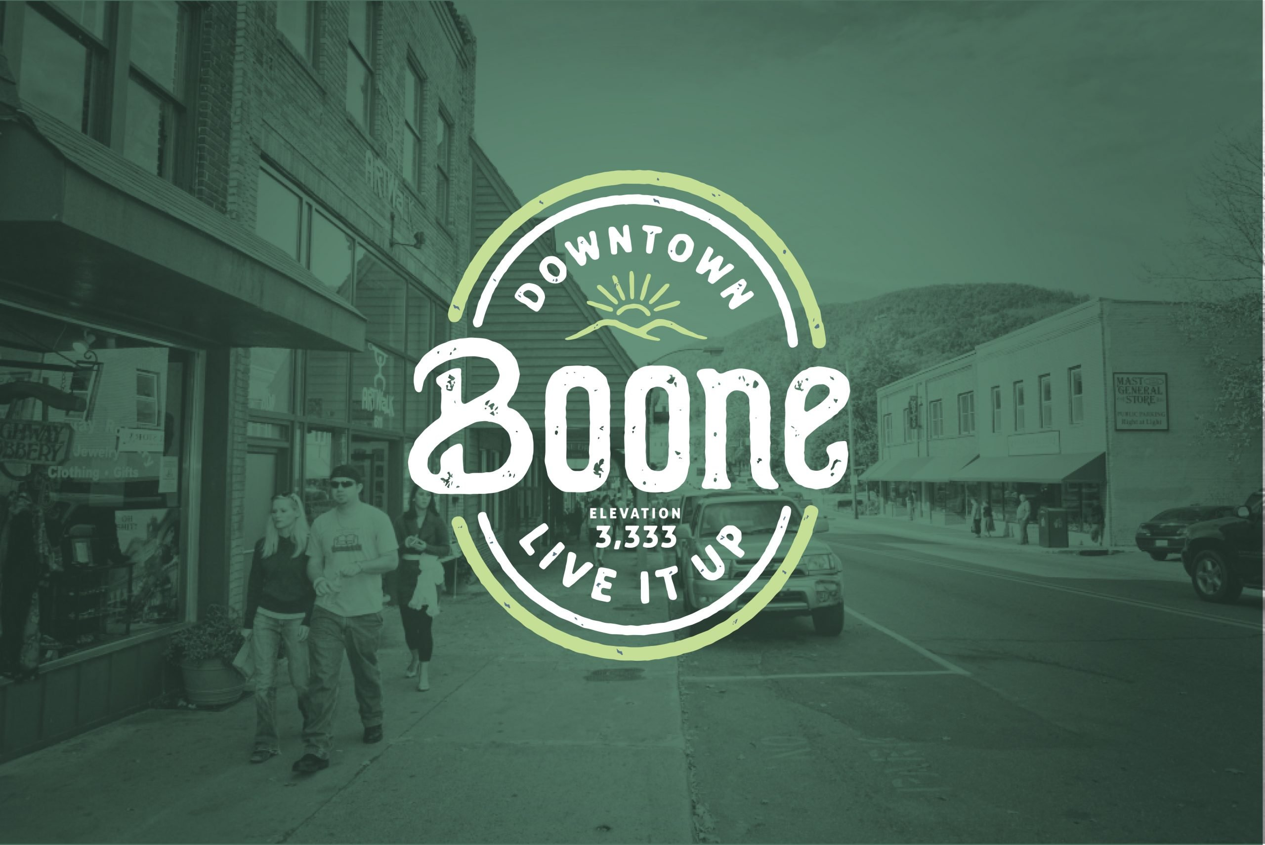 Downtown Boone Brand Image