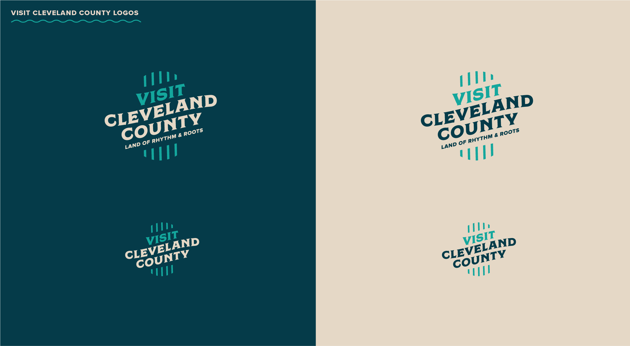 visit Cleveland County logos
