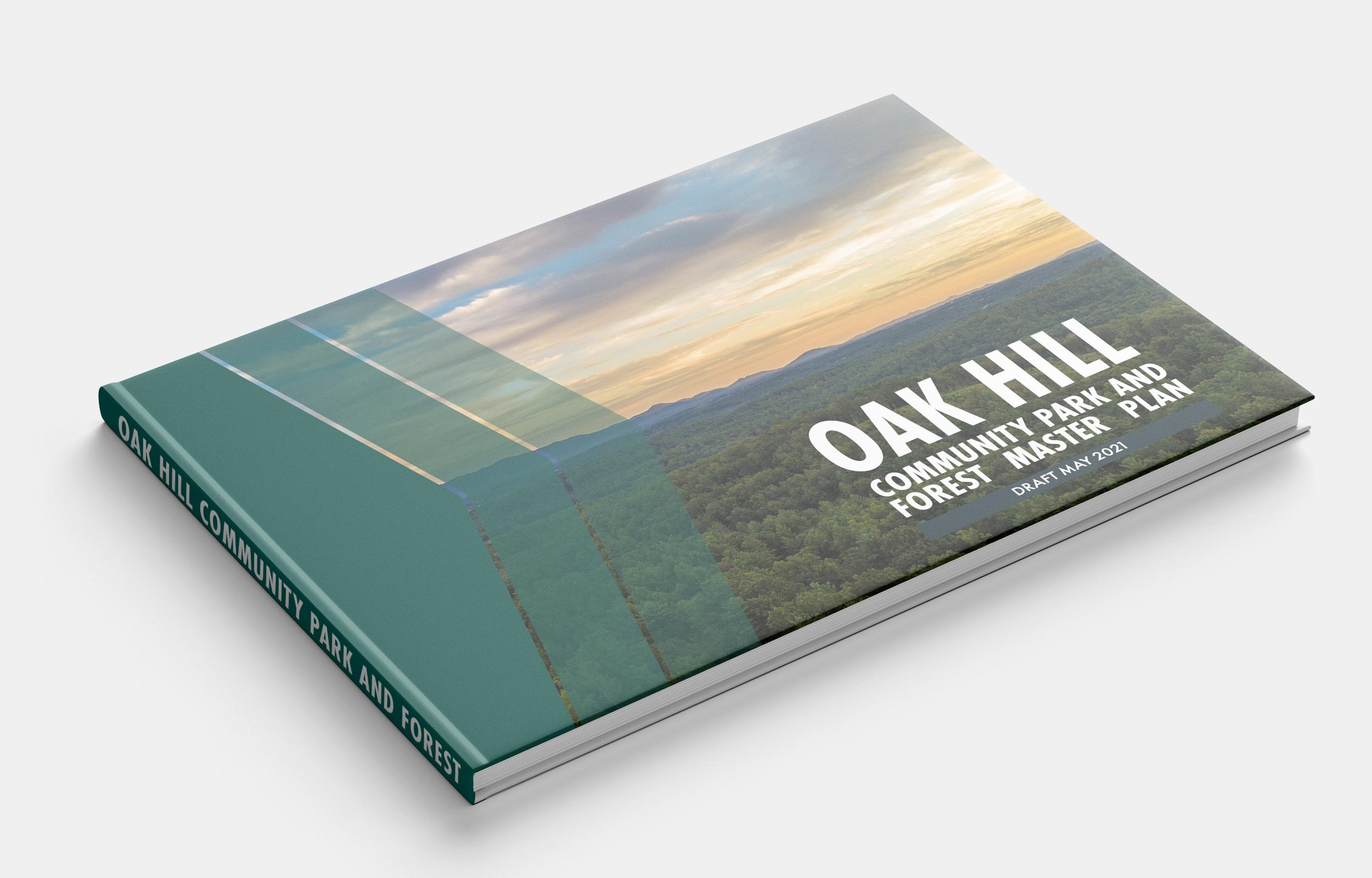 Oak Hill Community Park and Forest Master Plan Cover