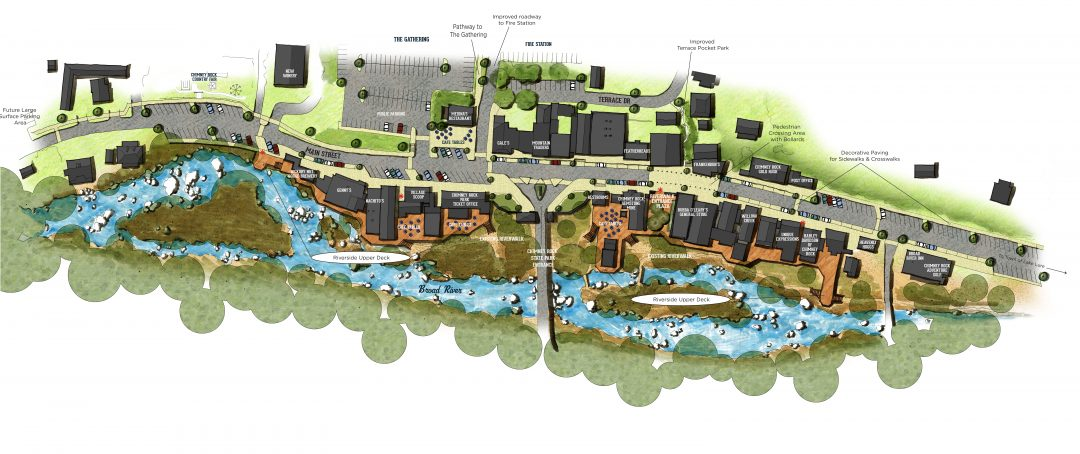 Chimney Rock Village Streetscape Plan