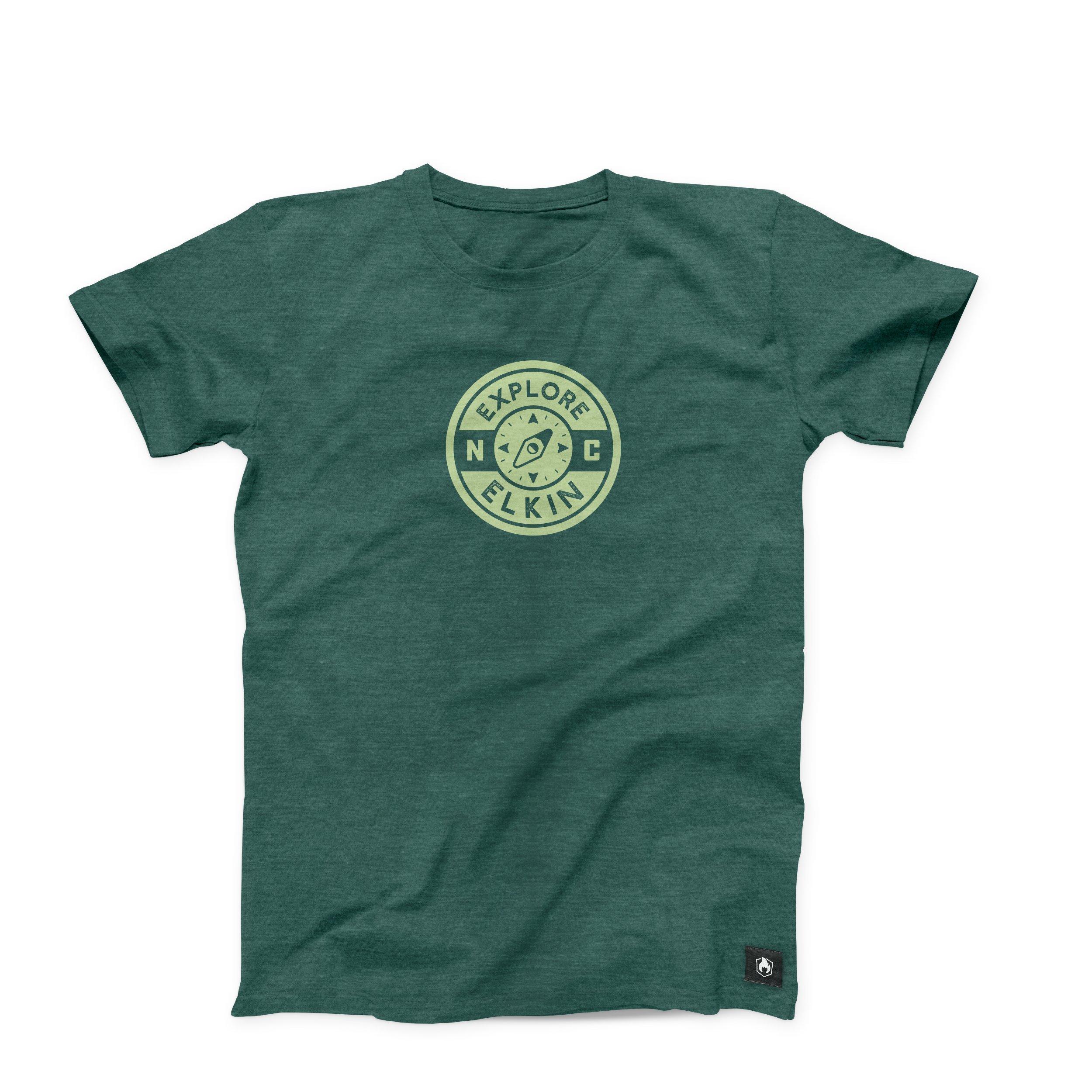 Elkin t-shirt mockup