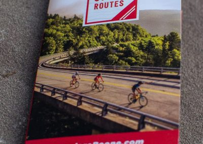 Boone Area Cycling Routes Map
