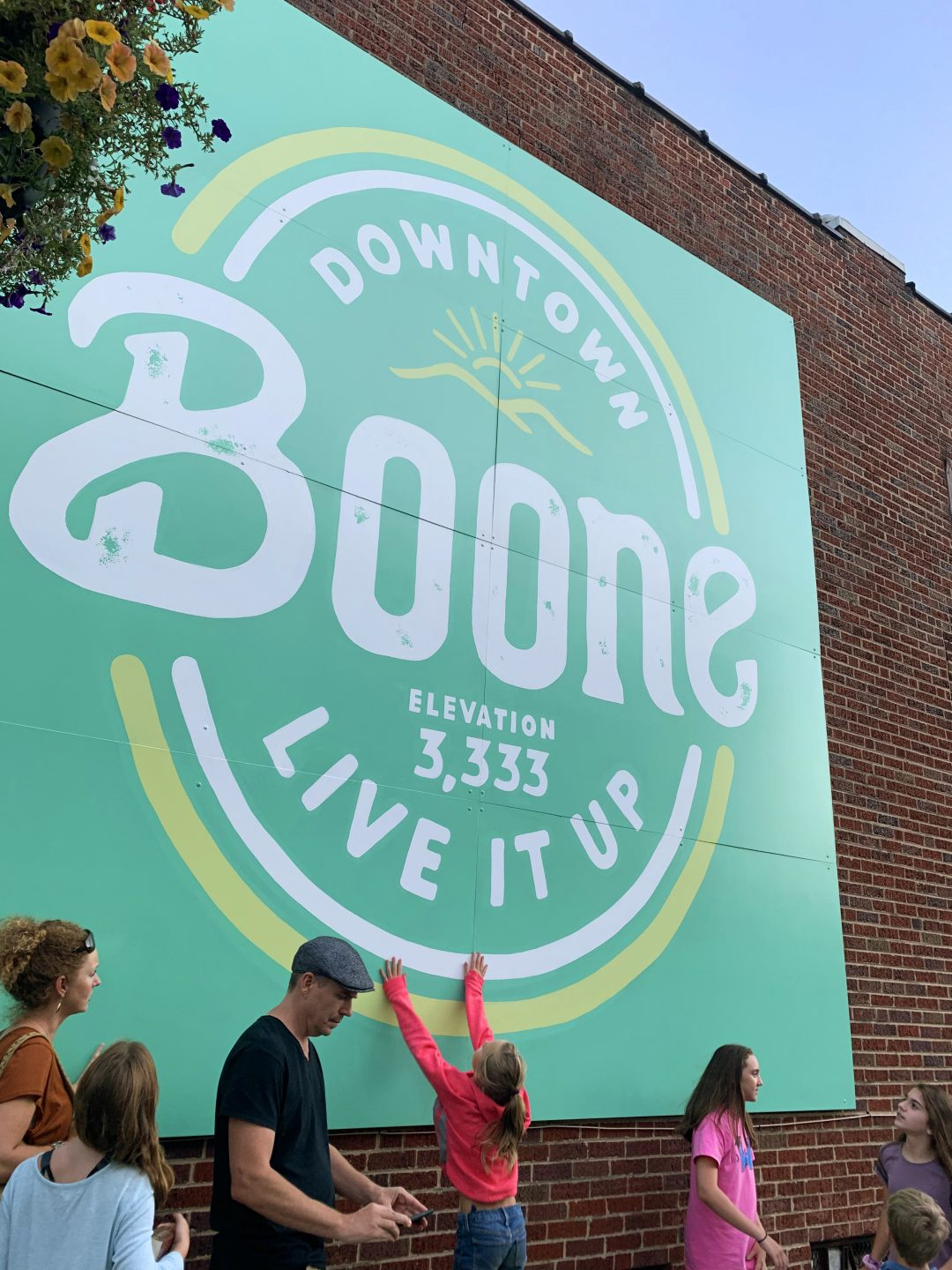 Downtown Boone Brand