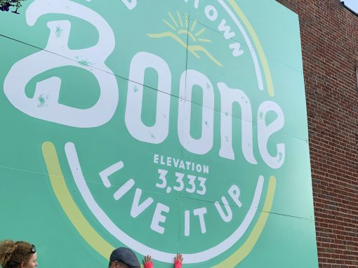 Community Brand for Downtown Boone